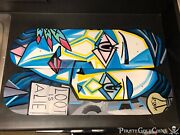 2 Treasure Painting Jr Bissell Loot Is A Lie Pirate Pablo Picasso Skateboard