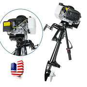 Ce Home 4 Stroke 3.6hp Heavy Duty Outboard Motor 55cc Boat Engine Cooling System