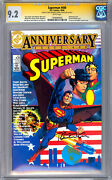 Superman 400 Cgc-ss 9.2 Signed By Jerry Robinson And Bernie Wrightson 1984