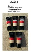 Cover Girl Mixed Of Active 24 Hr Foundation Spf 20 Bundle S / Lot Of 5 New