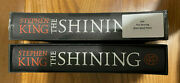 The Shining By Stephen King Folio Society 2016 Signed By Author And Illustrator