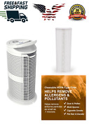Safer Air Purifier Hepa-type Filter Uv Dust Cleaner Large Smoke Room Home 220h