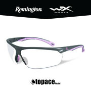 Remington Re601 Shooting/safety Glasses For Women - Pink Frame - Clear Lens