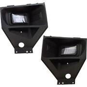 Pair Fog Lights Lamps Set Of 2 Front Left-and-right For F250 Truck F350 F450
