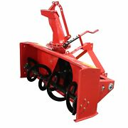 Titan Attachments Snow Blower 5and039 Cat 1 3 Point Pto Driven Directional Chute