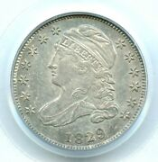 1829 Small 10c, Jr-3 Capped Bust Dime, Pcgs Ms64 Ogh