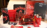 New Official Jack Daniels Tennessee Fire Mega Gift Bundle /starter Collection
