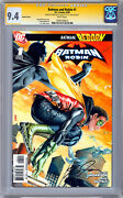 Batman And Robin 1 Cgc-ss 9.4 Robin Variant Cover Frank Quitely And J.g. Jones 2009
