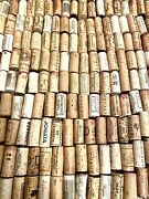 220 Used Wine Corks - No Champagne Or Synthetic - Mostly California And European