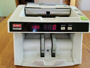 Money / Bill Counter Glory Gfb-220 For Parts Or Repair Powers Up