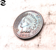 1905 Indian Head Penny Cent // Proof // Solid Four Diamonds I1605