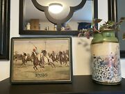 Polo Vintage Shaving And Cologne Set In Collectible Tin