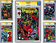 Spider-man 8-9-10-11-12 Cgc-ss 9.4 Avg All 5 Signed By Todd Mcfarlane 1991