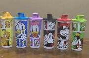 Tupperware Disney Collection Tumblers Set Of 6 -16 Oz Each