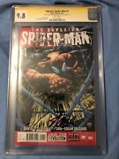Superior Spiderman 1 Cgc 9.8 Signed By Stan Lee And Ryan Stegman