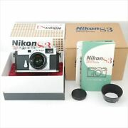 Used Nikon S3 + 50mm F1.4 Year 2000 Limited Edition Operation Confirmed