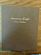 Complete 37 Coin Silver Eagle Set 1986-2021 New 2021 Type 2 Included
