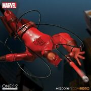 New Mezco12 Collective Marvel Daredevil Red Suit Comics Figure Hard To Find
