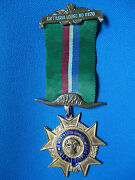 South Africa African Masonic Medal Kaffraria Lodge No 6670 Named 1976 Eastwood