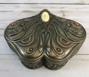 Art Noveau Princess Jewelry/trinket Box Top Collection Reproduction