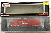 Atlas Gold 1/87 Ho Canadian Pacific Gp38-2 Engine 4421 Dcc And Sound F/s 10002491