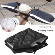 Winter Riding Motorcycle Electric Car Handlebar Gloves Thermal Sponge Mitts Warm