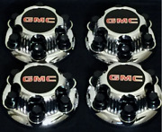 6 Lugs New Chrome Gmc Sierra Yukon Xl 1500 Denali Replacement Center Cap Hub Si