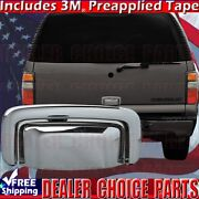 2000-2006 Chevy Suburban Tahoe Chrome Tailgate Handle Cover For Liftgate