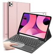 Touchpad Keyboard Smart Case Cover W/pen Holder For Ipad 10.9 2020 Air 4th Gen