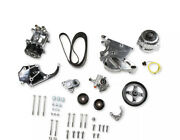Holley 20-137p Ls/lt Complete Accessory Drive Kit- Polished Finish Sd508 Compres