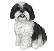 Shih Tzu Dog - Collectible Statue Life Size 10h New