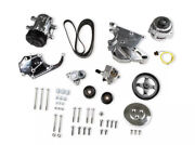 Holley 20-138p Ls/lt Complete Accessory Drive Kit- Polished Finish Sf7 Compresso