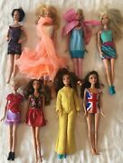 Vintage Barbie Clothes, Dolls, Accessories Large Lot, See All Pictures