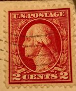 Very Rare George Washington Red Two 2 Cent Postage Stamp