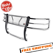 Westin 57-3830 Hdx Polished Stainless Steel Grille Guard For 2015-2020 Ford F150