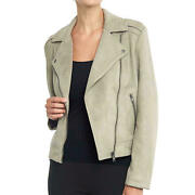 Philosophy Women's Long Sleeve Faux Suede Moto Jacket Nwt Various Colors And Sizes