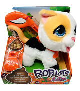 Furreal Poopalots Big Wags Kitty Interactive Pet Toy With Leash Hasbro E8946 New