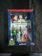 New Sealed Justice League The New Frontier W/green Lantern Figurine