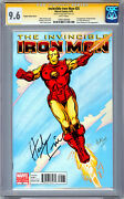 Iron Man 25 Cgc-ss 9.6 Nm Variant Cover Signed Artist Herb Trimpe 1939-2015