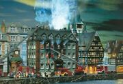 Faller N Scale Burning Tax Office Building Kit 232300 - Special