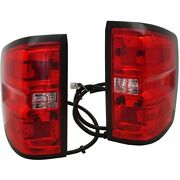 Set Of 2 Tail Lights Lamps Left-and-right For Chevy 23295939 84019503 Pair