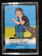 Family Guy Seasons 3, 4 And 5 Autographed 2011 Leaf Trading Card Leif Garrett