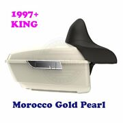 Morocco Gold Pearl King Tour Pack Pak Fit 1997-2020 Harley Street Road Touring