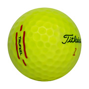 Titleist Trufeel Yellow Aaa 100 Pack Used Golf Balls 3a