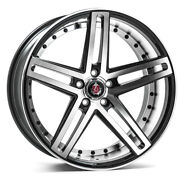 22 Inch 22x9 Axe Ex20 Machined Face Blanks Wheels Rims 5x115 +30