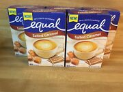 5 Boxes Equal Salted Caramel Zero Calorie Sweetener 80 Packets Per Box Sealed
