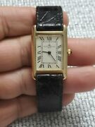 Rare Vintage Baume And Mercier 14k Solid Gold Manual Wind Unisex Watch