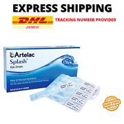 3 X Artelac Splash Fast And Natural Hydration Eye Drops 0.5ml X 30and039s Dhl Ship