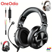 Wired Over Ear Headphones Oneodio A71 Professional Studio Dj Dynamic Mic Headset