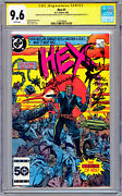 Hex 1 Cgc-ss 9.6 Aka Jonah Hex Signed And Sketch Mark Texeira + Klaus Janson 1985